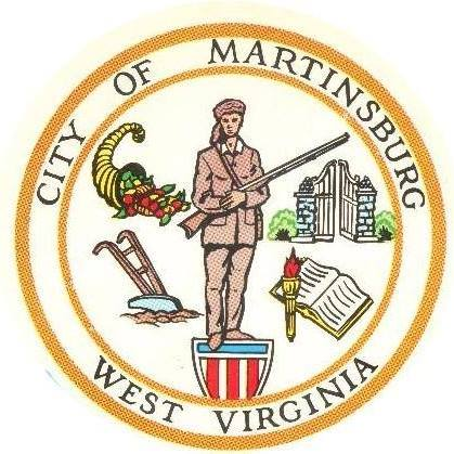 logo for the City of Martinsburg.