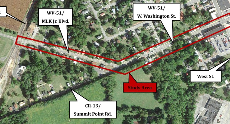 HEPMPO recently conducted a study along RT 51 in Charles Town.
