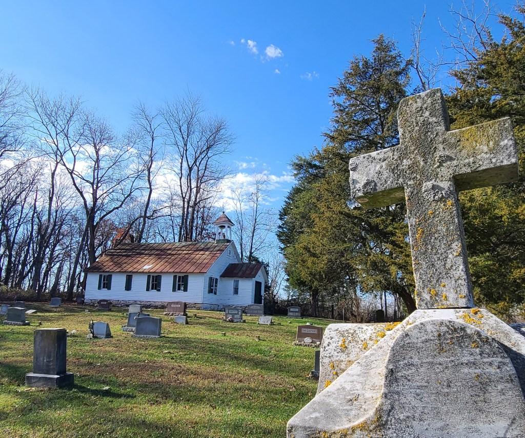 The Mount Zion Freewill Baptist Church.