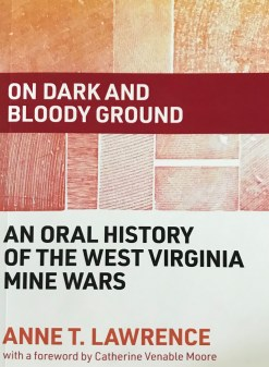 On dark and bloody ground, by Anne Lawrence.