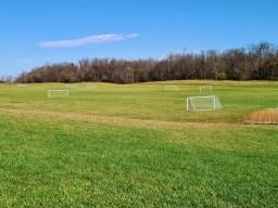 soccer fields at James Hite Park.