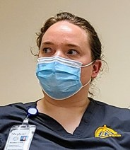 Heather Cook, BSN student.