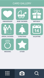 Card categories