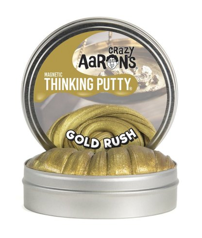 Crazy Aaron Thinking Putty  Magnetics  Gold Rush  10Cm