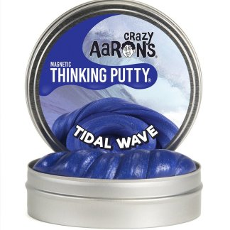 Crazy Aaron Thinking Putty  Super Magnetics  Tidal Wave  10Cm Tin