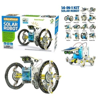 14 in 1 Solar Robot Kit