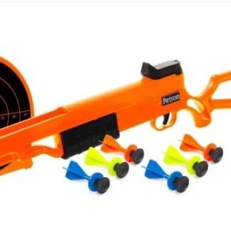 sureshot rifle and target