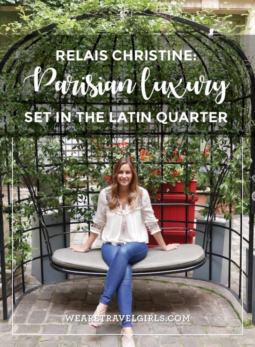 Hotel Review: Relais Christine Paris, France