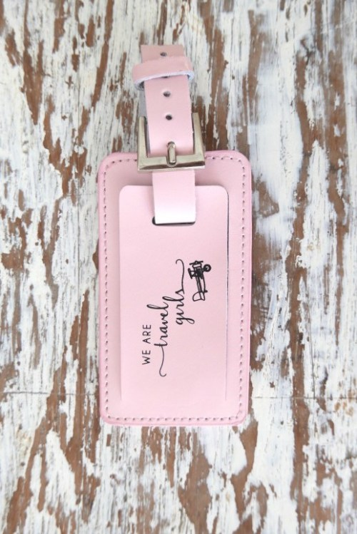 We Are Travel Girls Luggage Tag