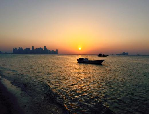 sunset-doha