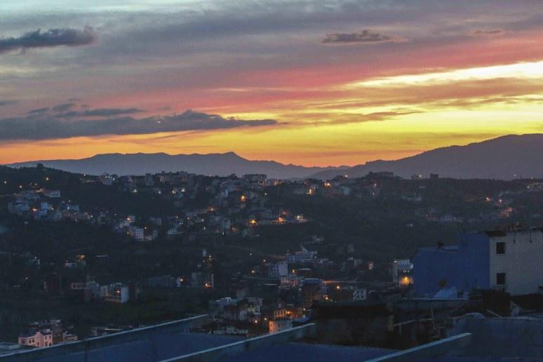 Chefchaouen-Sunset