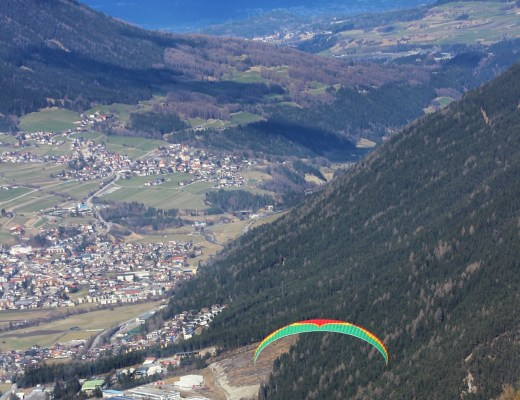 FLYING THROUGH THE ALPS PARAGLIDING IN AUSTRIA FEATURE IMAGE