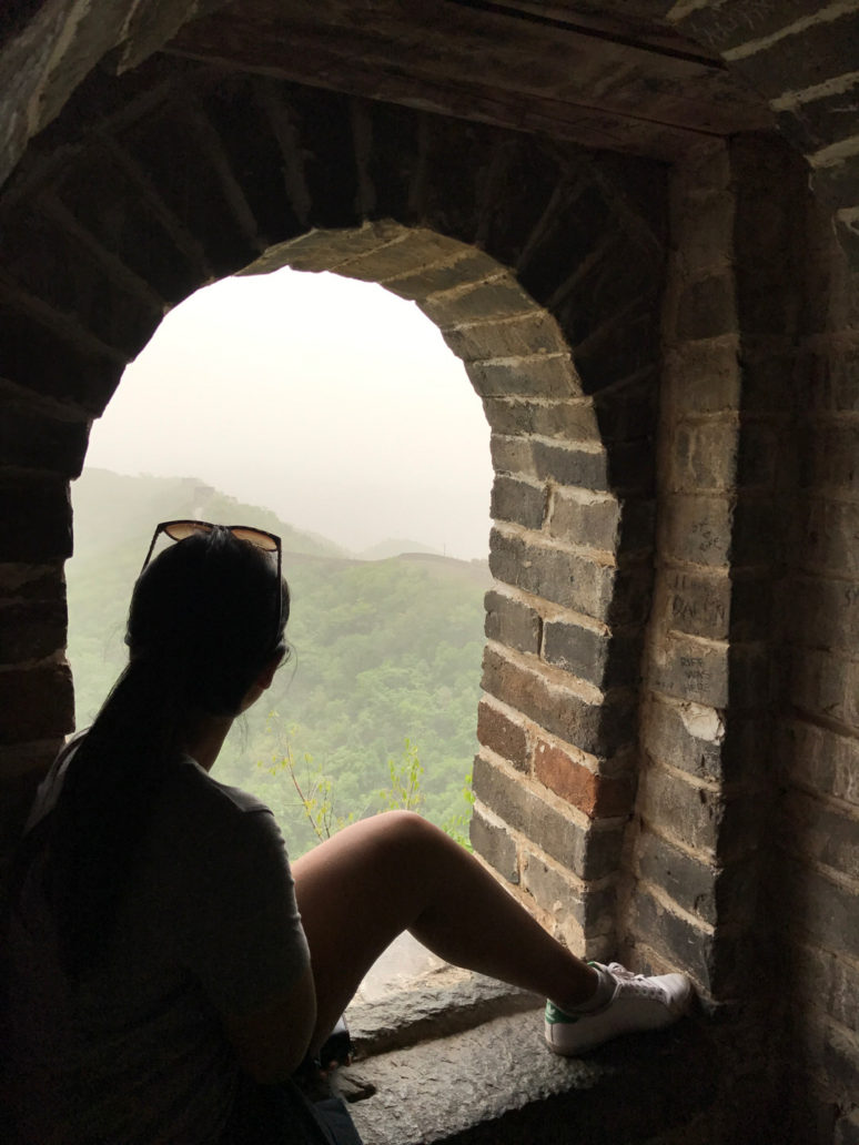 Quiet-contemplation_The-Great-Wall HOW TO HIKE THE GREAT WALL OF CHINA LIKE A PRO