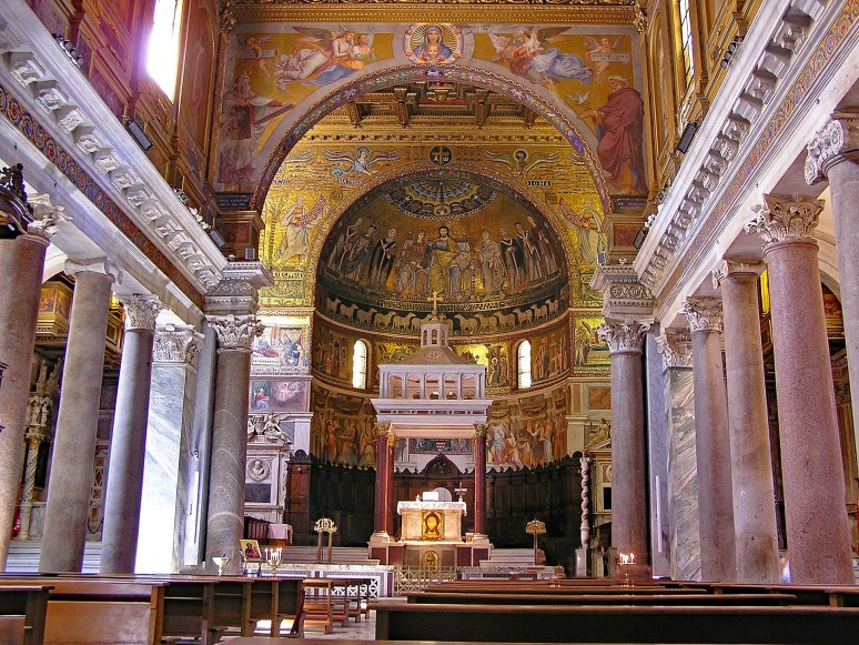santa-maria-in-trastevere-HOW TO DO ROME IN 1 DAY ON A BUDGET