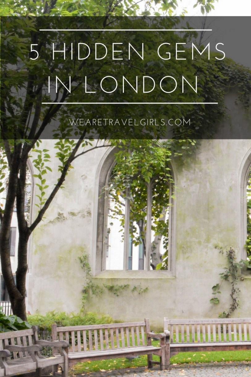 5 London Hidden Gems