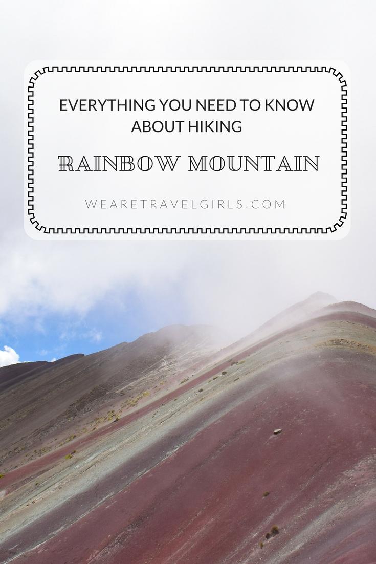 HIKING RAINBOW MOUNTAIN