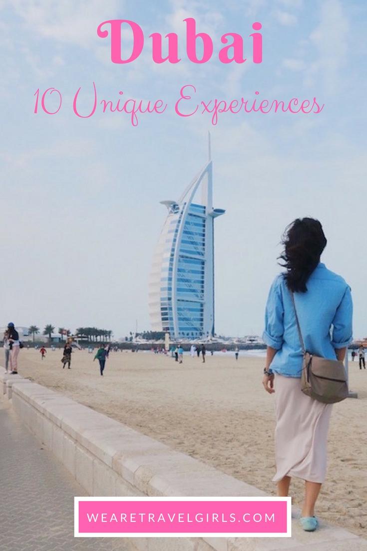 10 Must Do Unique Experiences in Dubai
