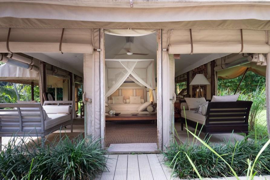 Lounge Like A Supermodel In Beautiful Luxury Tents, Ubud Bali