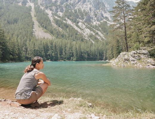 50 shades of Green - Visiting Austria's unique Emerald Lake