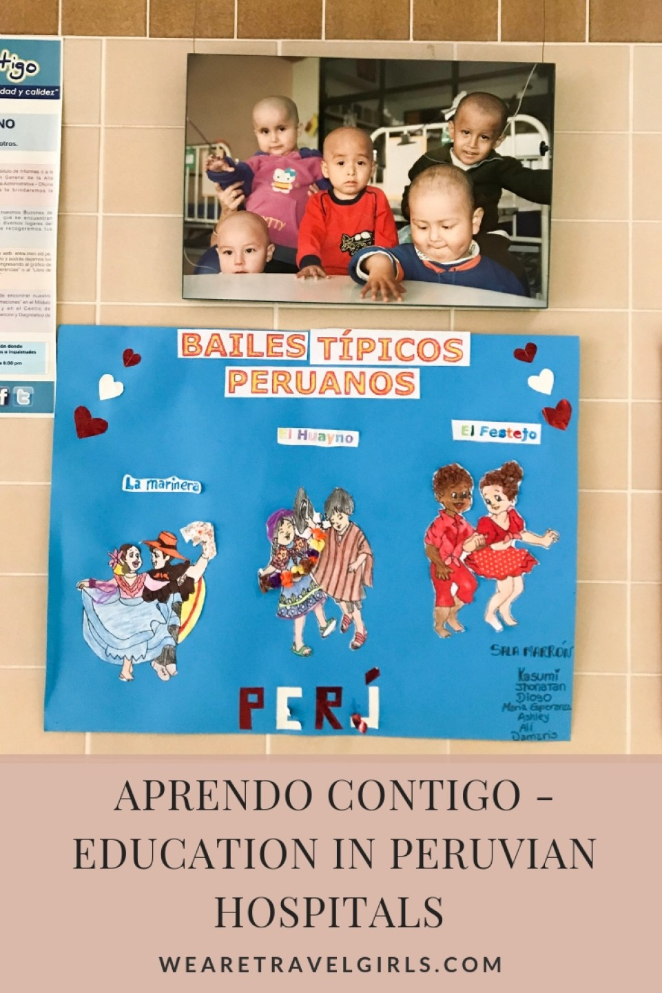 Aprendo Contigo - Education in Peruvian Hospitals