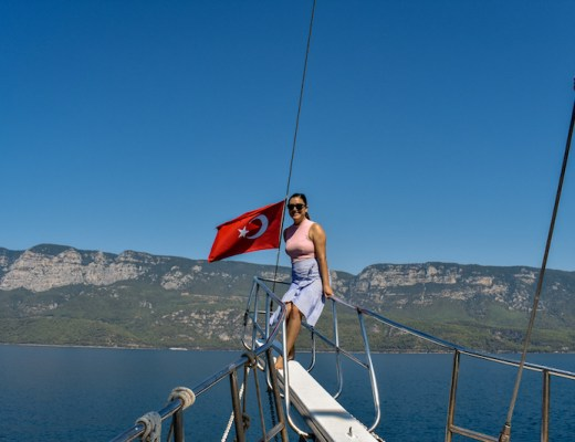 Daily Boat Tours In Akyaka, Turkey