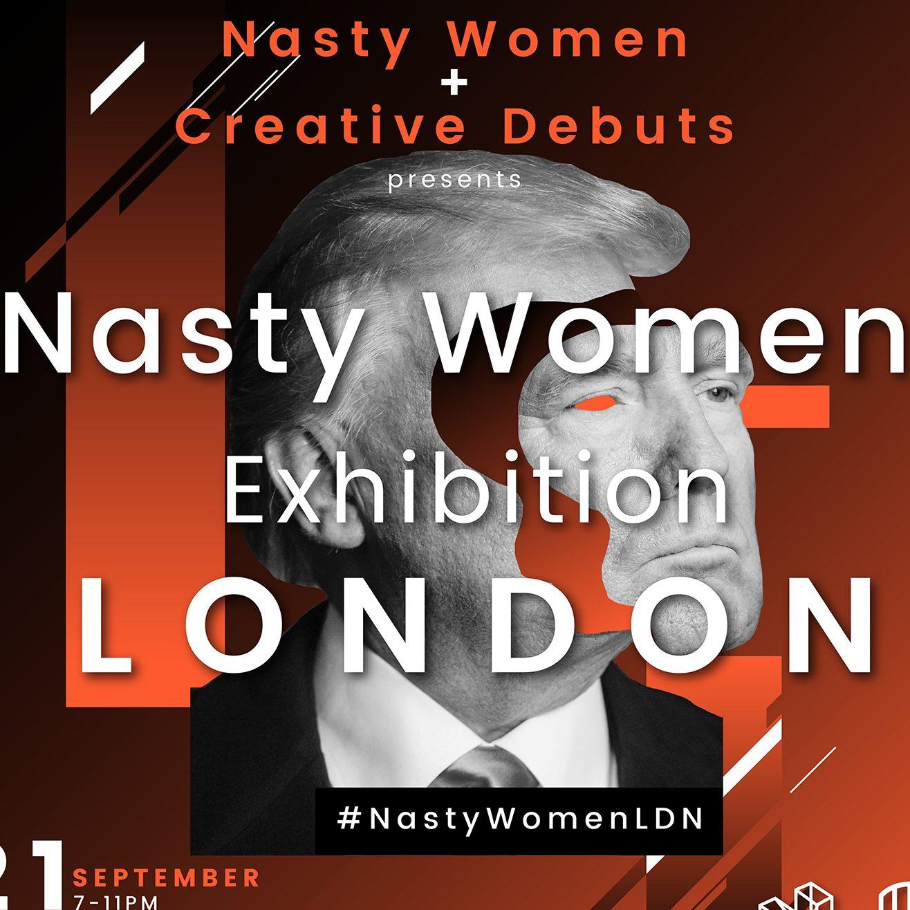 Nasty Women London September 2017 flyer
