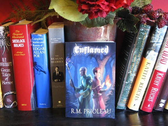 Enflamed by R.M. Prioleau