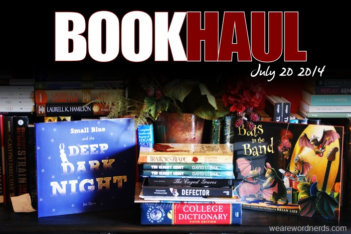 Book Haul - July 20, 2014 | wearewordnerds.com