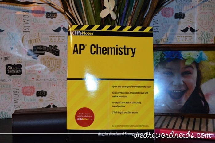 CliffsNotes AP Chemistry by Angela Woodward Spangenberg