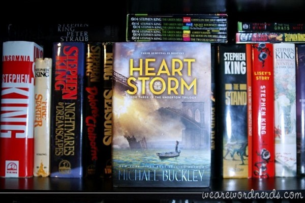 Heart of the Storm: Undertow Trilogy Book 3 by Michael Buckley