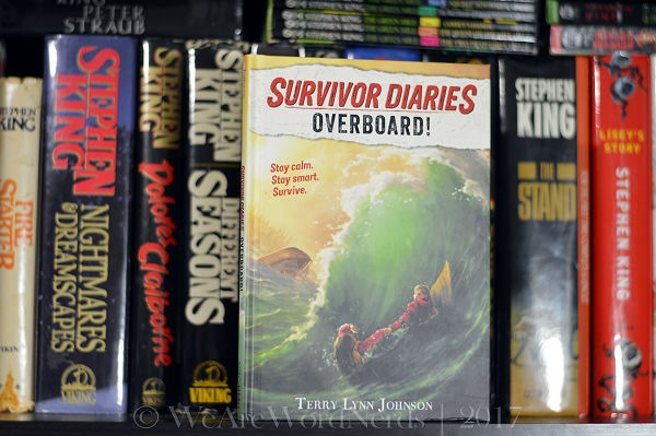 Overboard! (Survivor Diaries) by Terry Lynn Johnson
