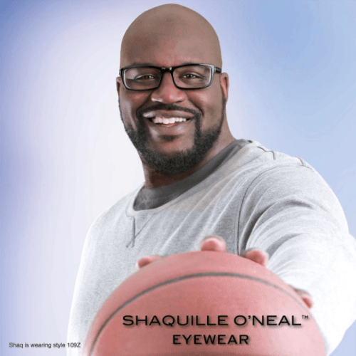 A top seller and game stopper, Shaquille O'Neal style 109Z offers double layered zyl with Extended-Fit sizing. #Shaq #ShaquilleONeal #Zyloware #WeAreZyloware