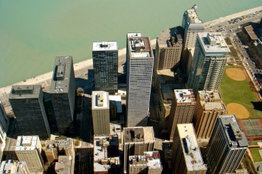 View from hancock tower