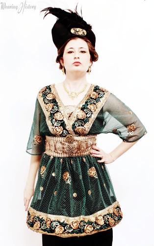 Paul Poiret Inspired Dress- Wearing History Blog
