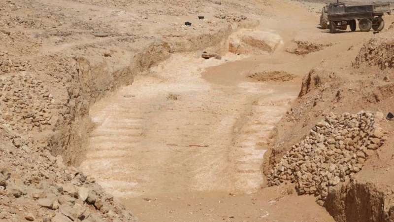 Ny lecht in et mystery wo as de egyptenåren de piramides boweden
