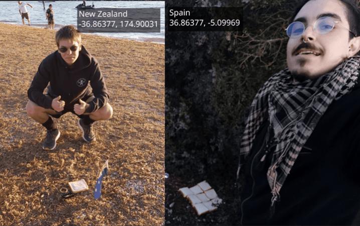 Bröydje Wearld: twey sneyde stute med 12.724 km dikke beleg