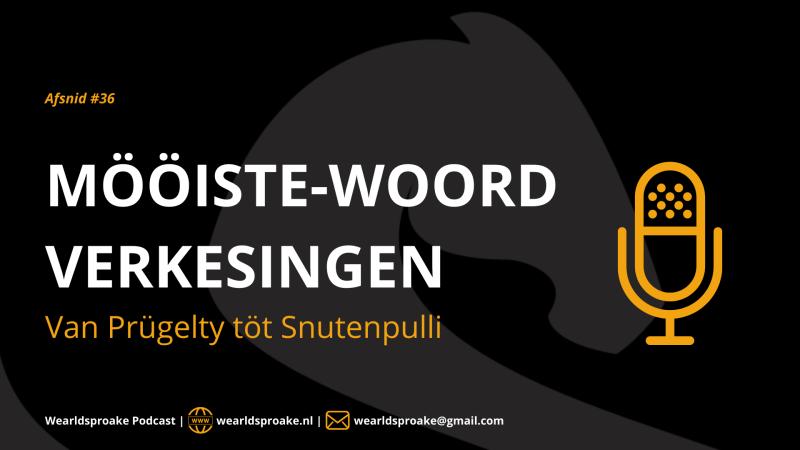 PODCAST | 'Van Prugeltie töt Snutenpulli': Mööiste-woord-verkesingen