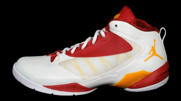 watch a6ba5 42f3b Jordan Fly Wade 2 EV White  Del Sol  Gym Red – Available at HOH