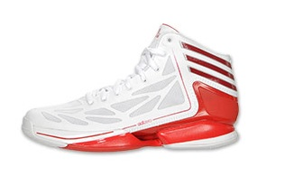 the latest cfbed b8a26 adidas-adiZero-Crazy-Light-2-White-Red-Available-