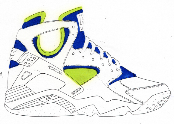 20-Nike-Basketball-Designs-that-Changed-the-Game-Nike-Air-Flight-Huarache-10 7feb968e83