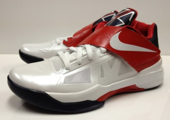 new concept 33dc7 fd245 nike kd iv size 12 gold medal