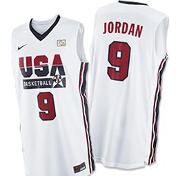 newest 34b94 35f0e jordan olympic jersey nike