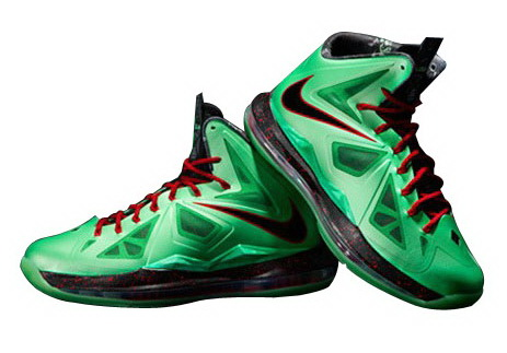 finest selection dbd18 13835 Nike LeBron X (10)  Cutting Jade  – Available Now