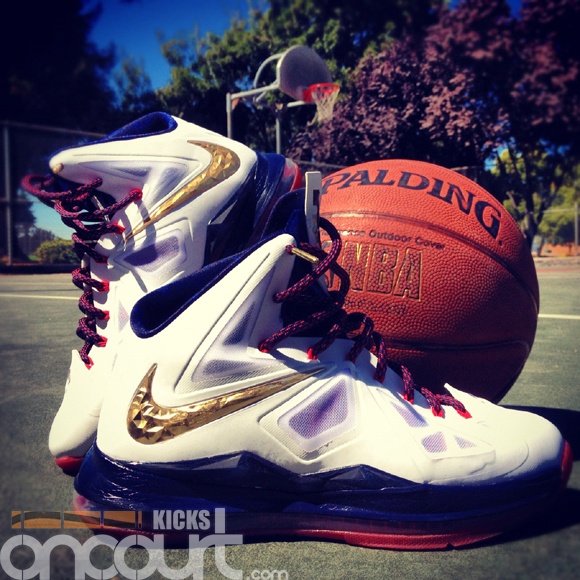 Nike LeBron X (10) Performance Review - WearTesters Lebron X Jumpman
