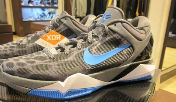 purchase cheap 8807f ff6a7 Nike Zoom Kobe VII (7) Cheetah  Wolf Grey