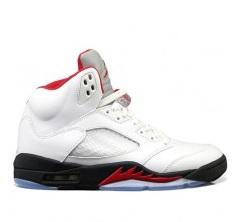 finest selection e25b3 87357 Air Jordan V (5) White  Black - Fire Red 2013 - Pre-Order - WearTesters