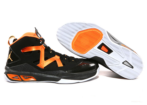 Jordan Melo M9 Black  Bright Citrus - White - WearTesters d763e7405bba