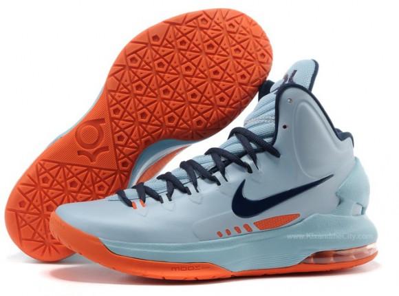 e9264e91d0b1 Nike KD V (5) Ice Blue  Squadron Blue - Total Orange - WearTesters