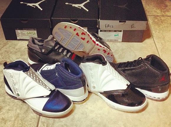 f02d4666b968 Air Jordan XVI (16) Retro 2012 Samples - WearTesters