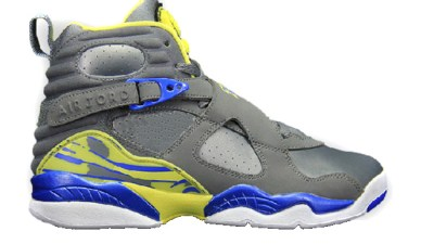 1f924fff2636 Air Jordan VIII (GS) Cool Grey  Violet Force – Yellow